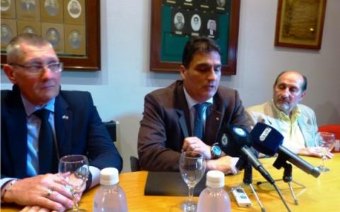 Septembre 2016 : visite à Esperanza de l'ambassadeur suisse en Argentine, Hanspeter Mock