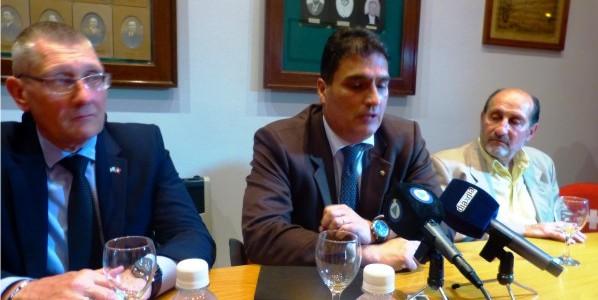 Septembre 2016: visite à Esperanza de l'ambassadeur suisse en Argentine, Hanspeter Mock