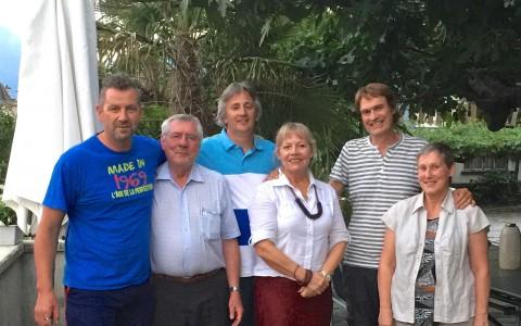 Visite en Valais de nos cousins sud-américains Agostinho Sauthier et Dario Favre