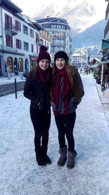 Séraphine Carroz et Lucia Hoet