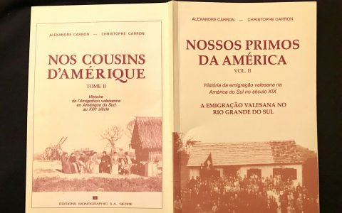 «Nos cousins d'Amérique»: traduction en portugais