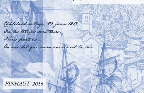 Nos cousins du Brésil : Finhaut : l'exposition « Geneviève, d'une Terre à l'autre… » prolongée jusqu'au 28 août 2016