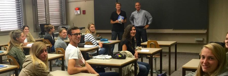 La classe 4H du lycée-collège des Creusets (Sion) a commencé la traduction du livre du Père Rougier «Los Caminos del Reencuentro»